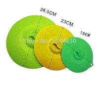 Wholesale Silicone kitchen supplies bowl Large universal pan basin microwave oven lids cooking tools lid cookware pan cover