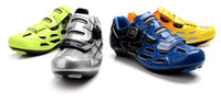 Wholesale 2014 News Cycling shoes Carbon road and Mountain MTB bicycle shoes athletic bike shoes for Men Cycle Sneakers