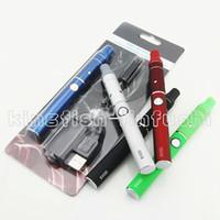 Single clear Metal Dry herb vaproizer pen electronic cigarette blister starter kit mini ago g5 e cigarette herbal vapor and evod cig battery ecigarette cigs