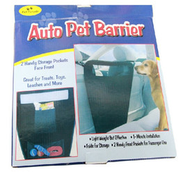 Wholesale Details about Auto Pet Dog Barrier Blocks Dogs Access To Auto Car Front Seat Adjustable for Dogs CW0147