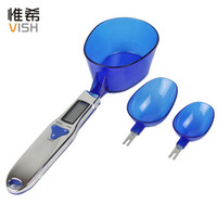 Wholesale Electronic Digital Spoon Scale g Kitchen Scale Weighing Scales Solar Powered dropshipping