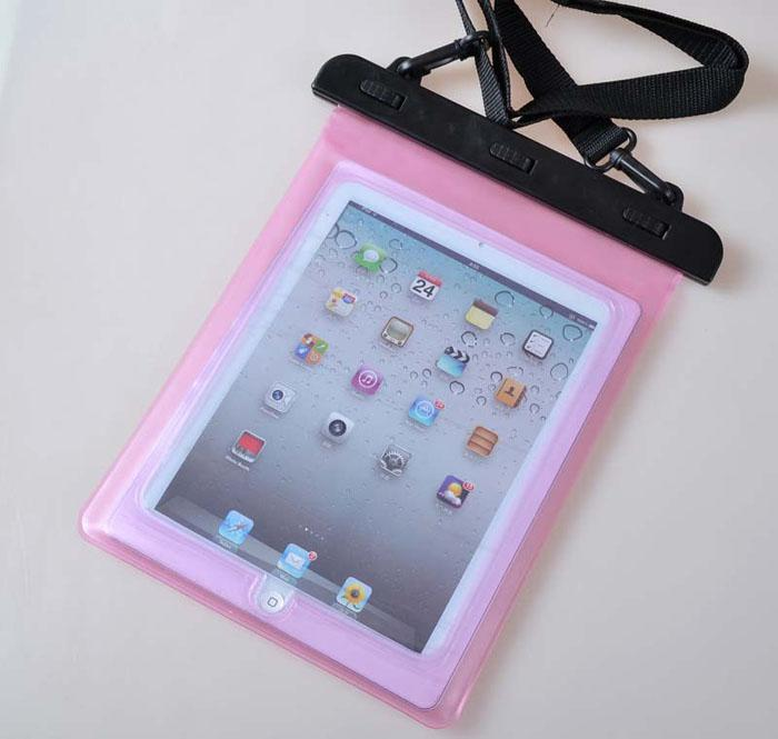 28 * 21CM Natation Boating Fishing Underwater Waterproof PVC Sealed Case Bag pour iPad 2 3 4 5 Air Samsung Galaxy Tab 2 10.1 pouces Tablet PC