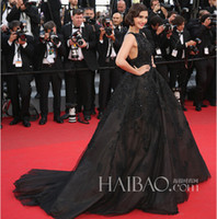 Reference Images Cannes Film Festival Jewel/Bateau 2014 the 67th Cannes Sonam Kapoor In Elie Saab Celebrity Dresses Ball Gown Bateau Neck Chapel Train Vintage Celebrity Dresses dhyz03