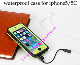 Wholesale Waterproof Redpepper case for iphone c Water Proof Snow Dirt Shock Proof for iphone5 S S High Quality