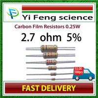 Wholesale 1 W W Watt ohm ohm Carbon Film Resistor W