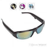 None No  Spy glasses New HD 720P Camcorder Eyewear spy Sunglasses Cameras Mini DVR DV Audio Video Recorder Cam 1280*720 glasses camera
