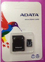 2016 nueva llegada tarjeta SD tarjeta de memoria ADATA 128 GB 64 GB 32 GB Clase 10 128 GB de memoria del TF TF C10 con adaptador SD al por menor del paquete de ampolla