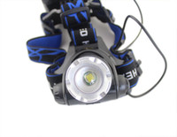 Wholesale Top Quality Lumens Headlamp CREE XM L T6 LED Headlight For AA Head Lamp Torch LED Flashlight Head Light