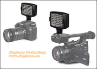 Wholesale sets K K LEDs Video LED Light Lamp CN LUX560 Photo Studio for Canon Nikon Camera Camcorder Lighting