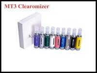 МТ3 Clearomizer EVOD Форсунка картомайзером 2,4 мл Емкость для эго т evod Электронная сигарета E сигареты E Cig Все цвета Instock хорошее качество