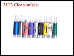 EVOD Clearomizer eGo MT3 Atomizer Mt3 Electronic Cigarette for ego t eved vision battery various colors in stock