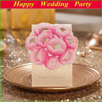 Wholesale Golden Pink Elegant Sweet Wedding Boxes Lovely Paper Candy Gift Boxes as Wedding Favor Decoration