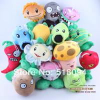 Wholesale PVZ Plants vs Zombies Soft Stuffed Plush Toys Dolls set quot CM ANPT141