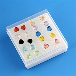 Wholesale 2014New Arrival Lady s Many Aspects Loving Heart Pattern Allergy Free Plastic Earring pairs40583