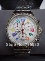michele watch - 2014 New Brand Michele MW03M25A1933 CSX Carousel Quartz Chronograph Women s Watch New