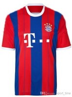 Soccer Men Short Bayern Munich 2014-15 Home Soccer Jersey Football Shirt Thai Quality Football Club Team New Jersey Discount Sports Wear Soccer Uniform Kits