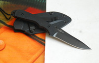 China pit bull - 7223 TIMBERLINE Mini PIT BULL LIGHTFOOT Design Knife With Necklace Neck knife Fixed blade knife camping knife knives with retail box ps