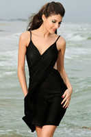 Wholesale Sexy sling wrap swimwear beach wear dress women s sarong summer bikini cover ups