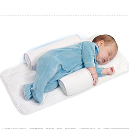Wholesale New Baby Infant Newborn Sleep positioner Anti Roll Pillow With Sheet CoverNew Baby Infant Newborn Sleep positioner Anti Roll Pillow With She