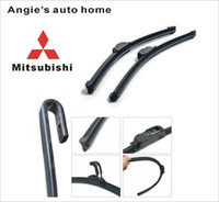 Wholesale universal car blades for mitsubishi outlander Soft silicone Rubber WindShield Wiper Blade PAIR deflector window
