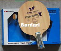Wholesale Butterfly Table Tennis Racket TAKSIM X CS Table Tennis Blade