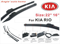 Kia accessories for auto kia - auto car windshield wiper blade for kia rio Natural Rubber Car Wiper Car Accessory AUTO SOFT