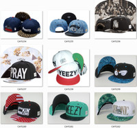 Wholesale Factoty snapback hats Hip Hop fashion cheap adjustable baseball snapbacks hats for men women mix order hot sale hatdoor