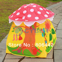Tents Animes & Cartoons PVC Cheap Lovely Children Kids Tent Eco-Friendly Colorful Play House Tents Outdoor 11923