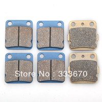 Brake Disks  New 0 New Front Rear 12pcs Brakes Pad For Yamaha ATV 125 RA Raptor YFM 350 Warrior Wolverine F YFZ350 Banshee1990-2006