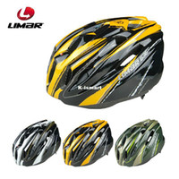Full Face Green,Yellow,Black  Wholesale - Limar 635 ride helmet bicycle helmet insect prevention net ultra-light bicycle helmet