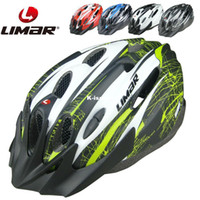 Full Face Army Green,White,Red,Blue,Black  Wholesale - Limar 535 bicycle helmet mountain bike ultra-light ride one piece