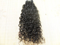 Wholesale new star brazilian virgin curly hair weft queen hair curlyl weaves unprocessed natural black color curl human extensions can be dyed