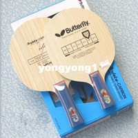 Wholesale High quality Butterfly TIMO BALL Racket Table tennis blade Horizontal grip handle FL Straight grip handle CS