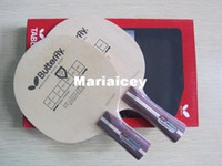 Wholesale Good Butterfly Racket Table tennis blade long handle FL FL short handle CS