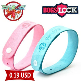 Wholesale Bugs Lock Mosquito repellent Wristbands Deet Free non woven Mosquito Bracenlets Non Toxic and very effective