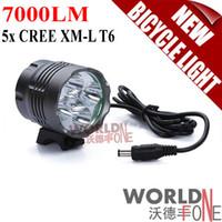 Wholesale Lumen x CREE XM L T6 LED Bicycle Light Bike Lamp Head Light Headlamp WF LBL14 Worldfone