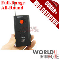 Wholesale FS CC308 Multi Detector Full Range All Round Detector For Hidden Mini Camera IP Lens GMS RF Signal Bug Detector Finder