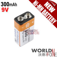 9 volt batteries - BP V Volt mAh High Capacity Ni MH Rechargeable Battery WF RB011 Worldfone