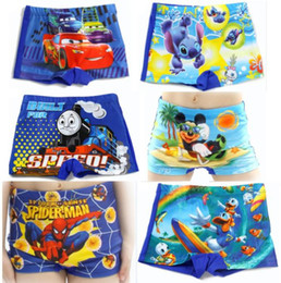 Wholesale 2014 Summer Beach Board Shorts Boys Trunks Character Swimwear kids swimsuit Hot Sale years