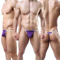 Cheap Nylon men briefs underwear Best G-Strings & T-Back & Thongs Sexy Penis Sheath
