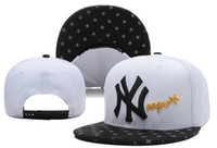 Wholesale White NY Snapbacks New Yankees Baseball Caps Cool Caps High Quality Snap Back Hot Sale Adjustable Hats Men and Women Hats Mix Order