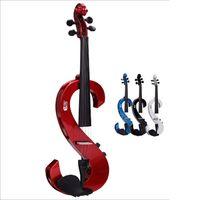Wholesale New Arrival Violin Adult Electric Fiddle Maple Strings Princess Kum Ukulele Musical Instruments