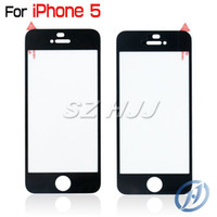 Tempered Glass for iphone 4 4S 5 5S Screen Protector Black P...
