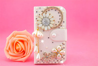 Cheap For Apple iPhone phone case Best Diamond  White iphone 5 case