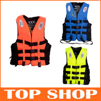 adult life vest xxl - 2014 New Life Jackets Fashion Life Vest Rafting S M L XL XXL XXXL Adults Children Life Vest HW0143