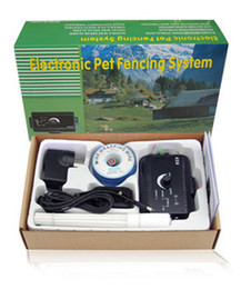 Wholesale for dogs Electric Shock Collar Smart Dog in ground Pet Fencing System pet fence