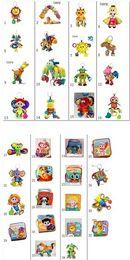 Tissu lamaze en Ligne-Lamaze jouets Toy crèche avec Doll Stroller Toy hochet de dentition Infant Development Early Music jouet bébé Lamaze Tissu Livres Cadeau 34 styles choisir