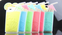 Wholesale 5 Hot D Summer Unique Shape Umbrella Lemon juice Cup Drink Bottle Candy Colors soft silicone Case Cover For iPhone S S