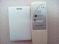 Wholesale Handheld RFID KHz EM4100 Card Copier Duplicator copy ID card and Tags Writable ID thick Cards