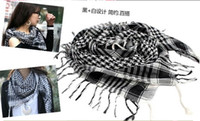 Wholesale 10pcs Women Men Unisex Arab Shemagh Keffiyeh Palestine Scarf Shawl Wrap Kafiya